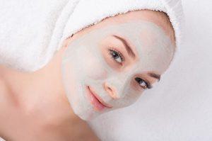 maschera facciale bicarbonato