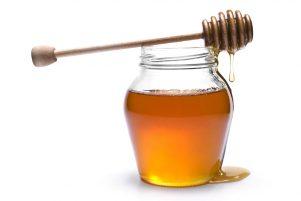 descrizione dell'uso del miele nei cosmetici