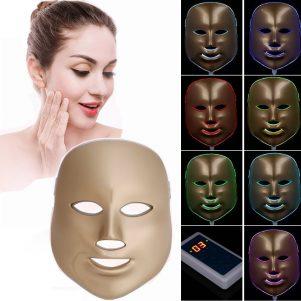 benefici ed usi della maschera viso con luce fotonica a led